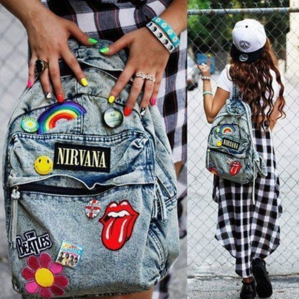 bag-backpack-denim-nirvana-hipster-patches-blue