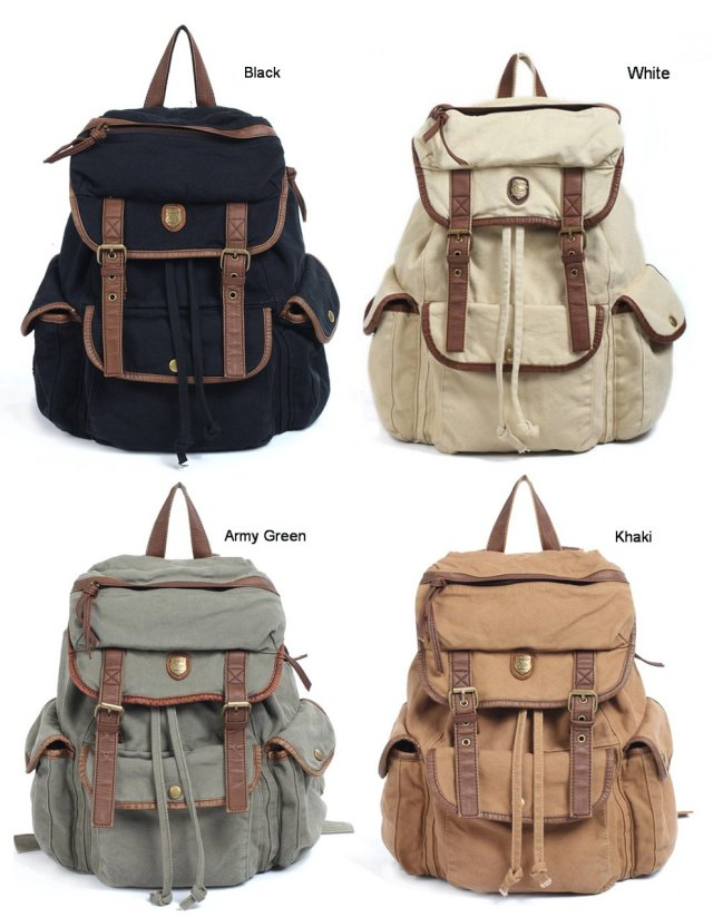 BBZ8-Thick-Washed-Canvas-Leather-Backpack-Men-Women-girl-s-leisure-Tote-Handbag-4-colors-Shoulders