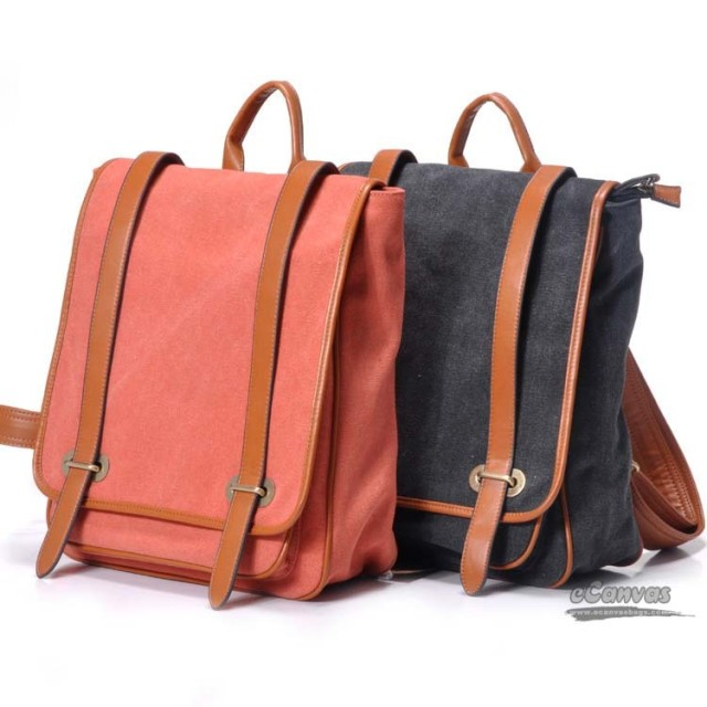 cheap-daypack-canvas-backpack-for-women-red-black