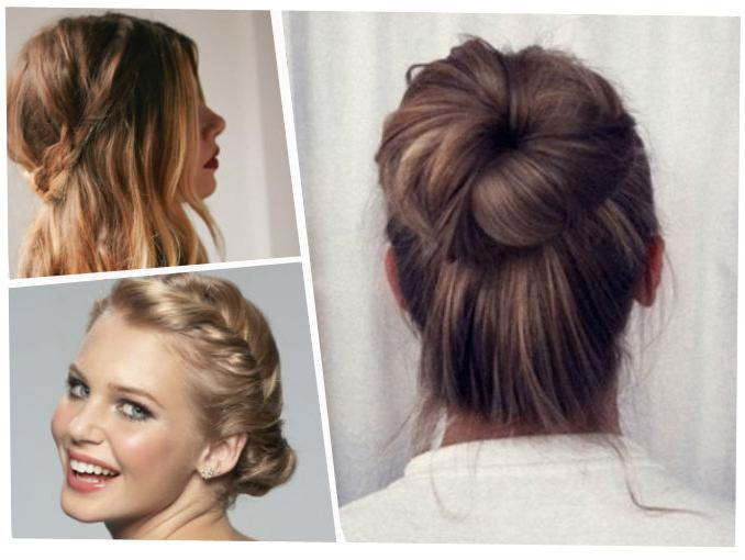 Como podrán haber visto hay varias ideas para cambiar el look del simple pelo corto, desde trenzas a recogidos y lindos rulos pueden hacer de tu cabello