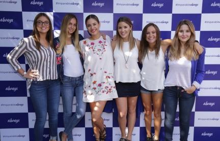 Constanza Piccoli - Trinidad de la Noi - Camila Stuardo - Catalina Vallejos - Valentina Carvajal - Belén Soto